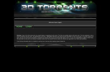 www.3dtorrents.org screenshot
