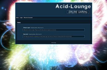 www.acid-lounge.org.uk screenshot