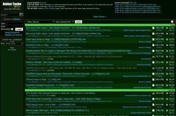 animetosho.org screenshot