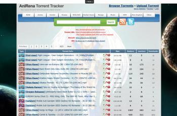 www.anirena.com screenshot
