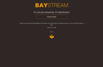 baystream.co screenshot