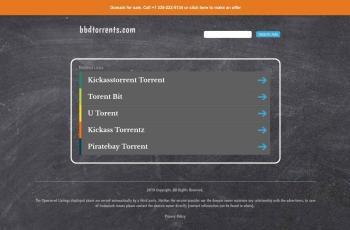 bbdtorrents.com screenshot
