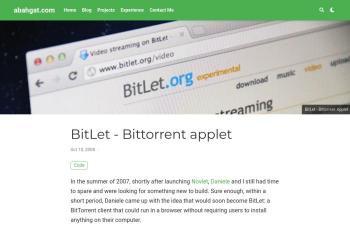 www.bitlet.org screenshot