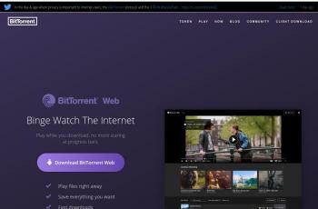www.bittorrent.com screenshot