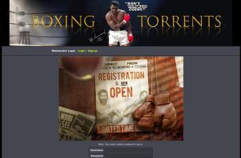 tc-boxing.com screenshot