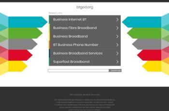 btgod.org screenshot