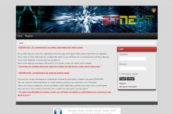 tracker.btnext.com screenshot