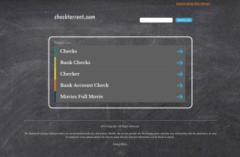 checktorrent.com screenshot