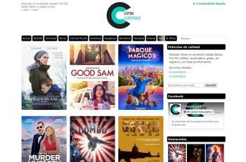 www.cinecalidad.to screenshot