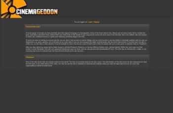 cinemageddon.net screenshot