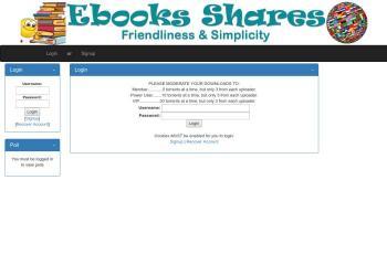 ebooks-shares.org screenshot