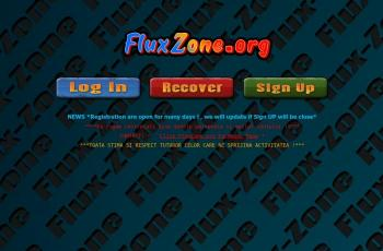 fluxzone.org screenshot