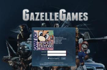 gazellegames.net screenshot