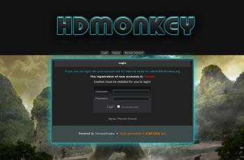 hdmonkey.org screenshot