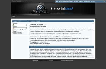 immortalseed.me screenshot