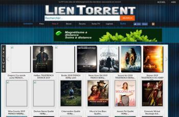 www.lien-torrent.com screenshot