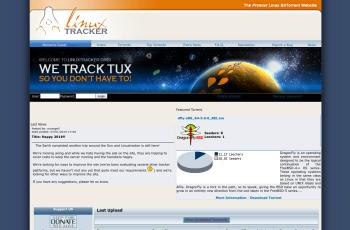 linuxtracker.org screenshot