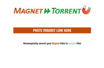 magnet2torrent.com screenshot