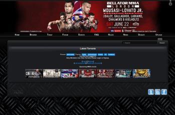 mma-torrents.com screenshot