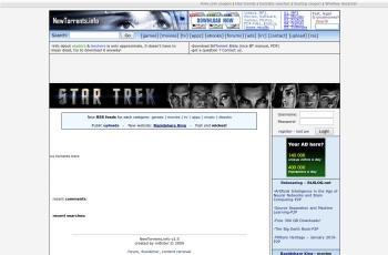 www.newtorrents.info screenshot