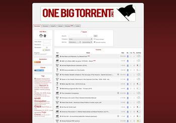 onebigtorrent.org screenshot