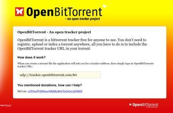 openbittorrent.com screenshot