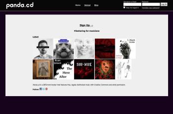 panda.cd screenshot