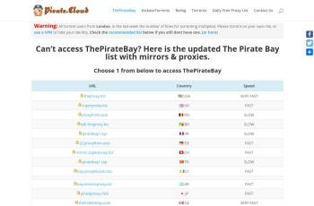 pirate.cloud screenshot