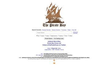 pirateproxy.lat screenshot
