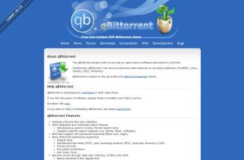 www.qbittorrent.org screenshot