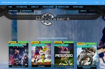 rgmechanicsgames.com screenshot