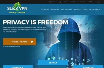 www.slickvpn.com screenshot