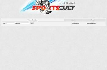 sportscult.org screenshot