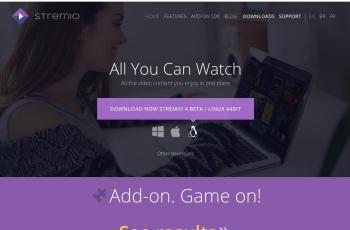www.strem.io screenshot