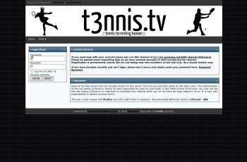 t3nnis.tv screenshot