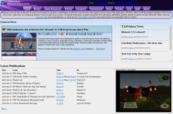 tasvideos.org screenshot