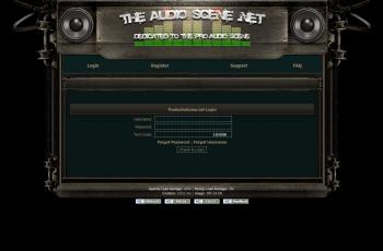 theaudioscene.net screenshot