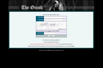 theoccult.click screenshot