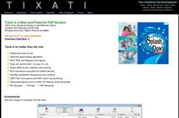 www.tixati.com screenshot