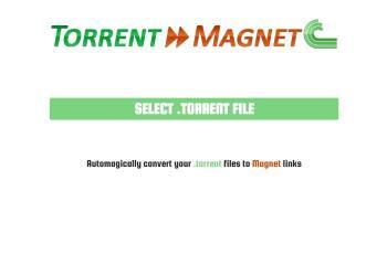 torrent2magnet.com screenshot