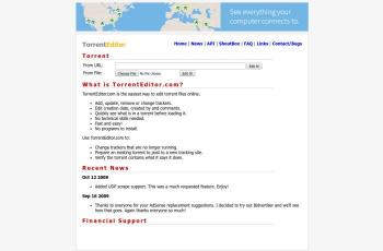 torrenteditor.com screenshot