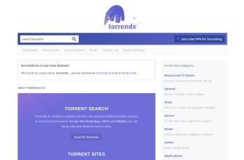 torrends.to screenshot