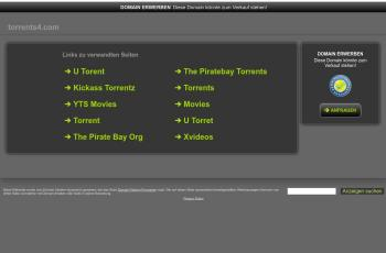 www.torrents4.com screenshot
