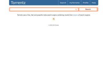 torrentz.eu screenshot