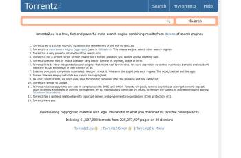torrentz2.is screenshot