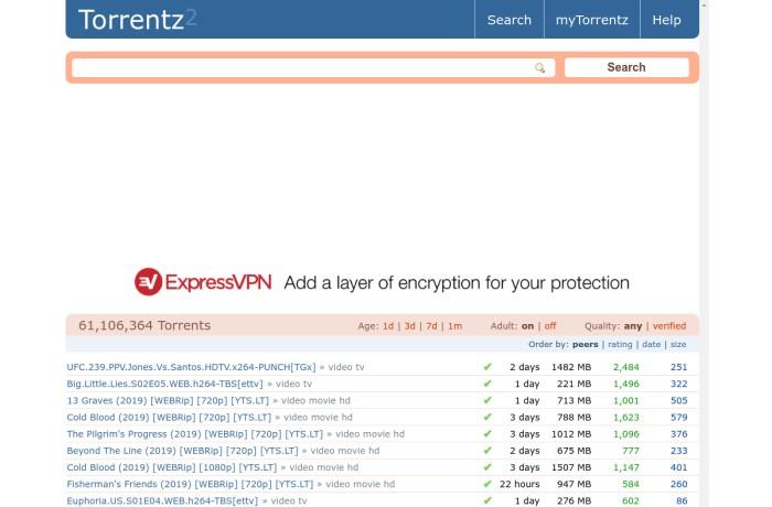 torrentz2.is torrent page