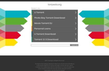 torrpeda.org screenshot