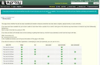 pirates-forum.org screenshot