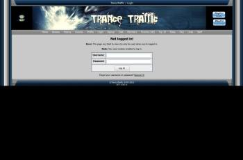 www.trancetraffic.com screenshot