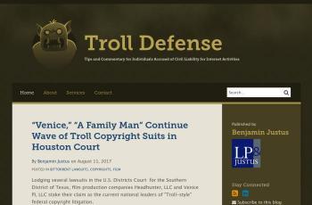 www.troll-defense.com screenshot